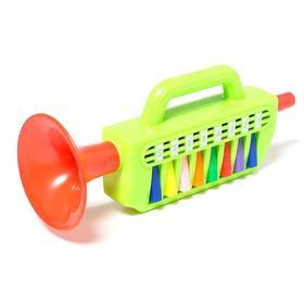 Игрушка музыкальная «Труба с клавишами», цвета МИКС