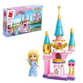 Конструктор Принцессы «Мини замок и принцесса», 1 минифигура и 103 детали