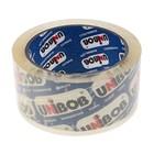 Клейкая лента UNIBOB 48мм*66м 60мкм, кристально-чистая