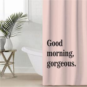 """Штора для ванной Этель """"Good morning"""" 145 х 180 см, полиэстер"""
