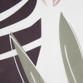 "Bathroom curtain Ethel ""Tropic"" 145 x 180 cm, polyester"