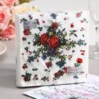 Салфетки бумажные New Line FRESCO Садовые розы, 2-слоя 20 листов 33*33