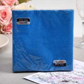 Paper napkins New Line FRESCO Blue, 2-layer 20 sheets 33 * 33