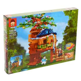 """Block constructor """"Tree house"""", 537 parts"""