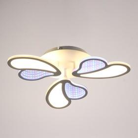 Люстра с ПДУ 69663/3WT LED 75Вт диммер 3000-6000K белый 50х50 см