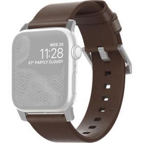 Ремешок Nomad Modern Leather Strap для Apple Watch 44мм/42мм, тёмно-коричневый
