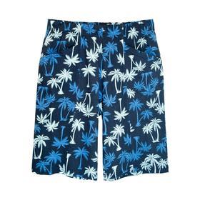 Шорты мужские,  размер 50,  принт пальмы Ош