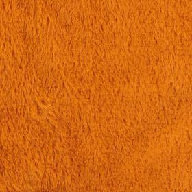 Мех на трикотажной основе цвет рыже-коричневый, ширина 155 см