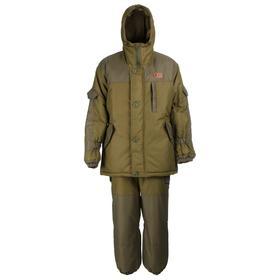 Костюм зимний «Горка», таслан, цвет хаки, размер 52-54/182-188