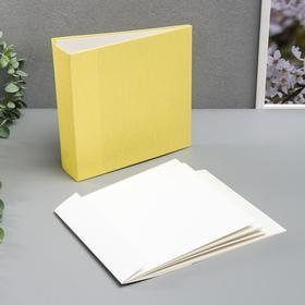 """Заготовка для фотоальбома """"Sunny"""" 10 листов, 20х20 см"""