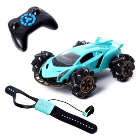 "Car radio-controlled ""Acrobat"", 4WD, gesture control, battery powered MIX"