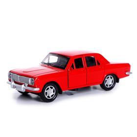Машина металлическая «Классика», открываются двери, инерция, световые и звуковые эффекты, МИКС
