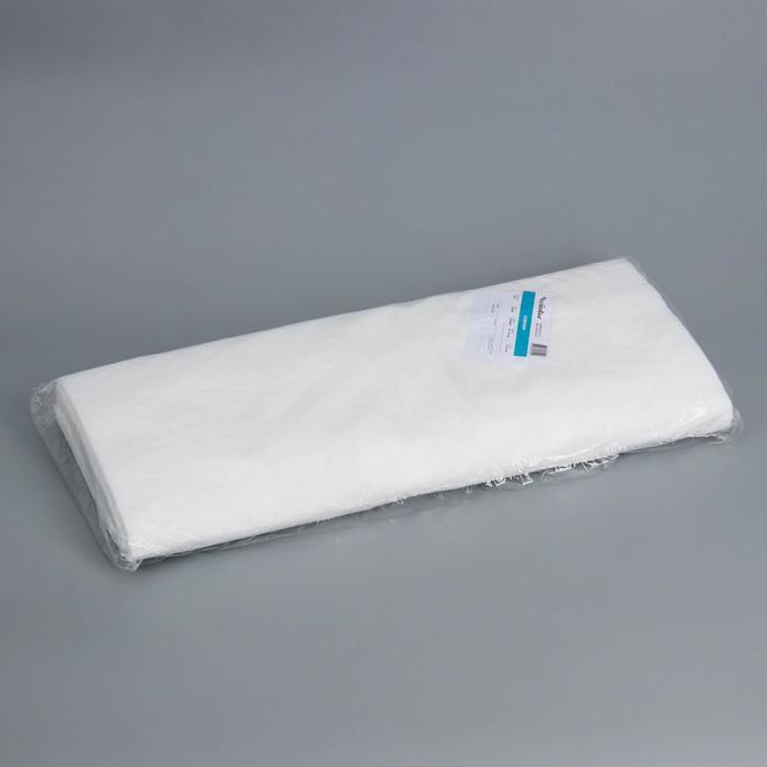 Коврик одноразовый Чистовье, 50×80 см, SMS, 100 шт/уп, цвет белый - фото 7651429
