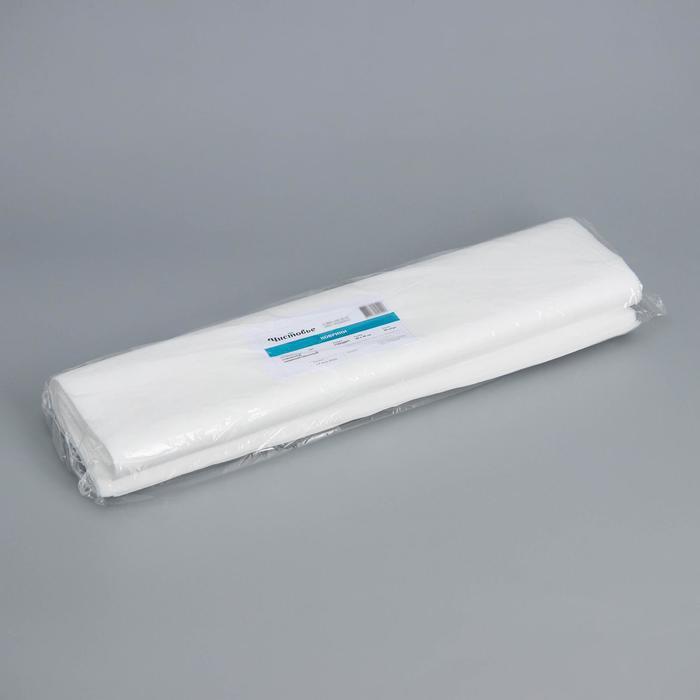 Коврик одноразовый ламинированный Чистовье, 40×50 см, спанбонд, 50 шт/уп, цвет белый - фото 7651438