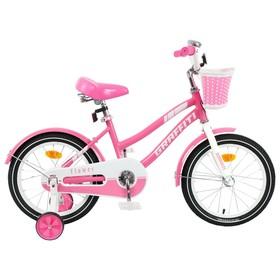 """Велосипед 16"""" Graffiti Flower, цвет розовый/белый"""