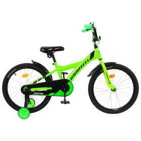 """Велосипед 18"""" Graffiti Spector, цвет неоновый зеленый"""