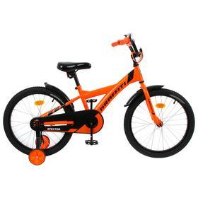 """Велосипед 18"""" Graffiti Spector, цвет неоновый красный"""