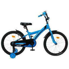 """Велосипед 18"""" Graffiti Spector, цвет неоновый синий"""