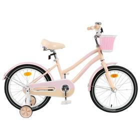 """Велосипед 20"""" Graffiti Flower, цвет персиковый/розовый, набор стикеров-наклеек в комплекте"""