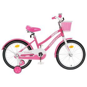 """Велосипед 20"""" Graffiti Flower, цвет розовый/белый"""