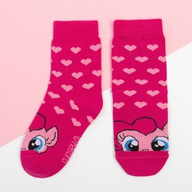 """Носки детские """"Пинки Пай"""", Мой маленький пони, 14-16 см"""