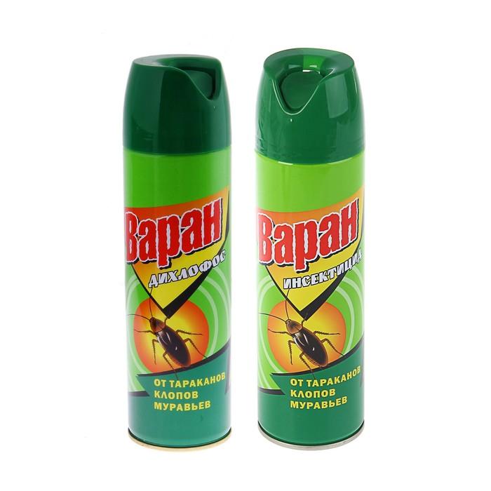 Инсектицид универсальный Варан от тараканов, зеленый, 440 мл