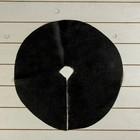 Круг приствольный, d = 0,4 м, плотность 60 г/м², спанбонд с УФ-стабилизатором, набор 10 шт., чёрный, «Агротекс»