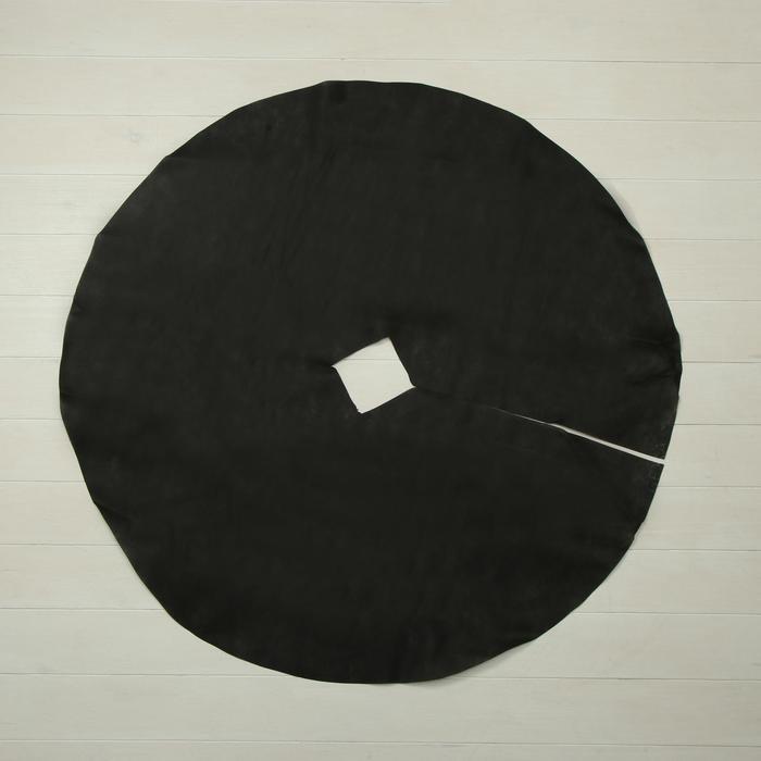 Круг приствольный, d = 1 м, плотность 60 г/м², спанбонд с УФ-стабилизатором, набор 5 шт., чёрный, «Агротекс»