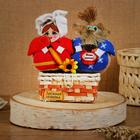 "Amulet - box ""Puzatiki Nafanya and Hlopotunya"", 20 cm"