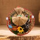 Оберег - панно «Домовой банщик», 17,5 см