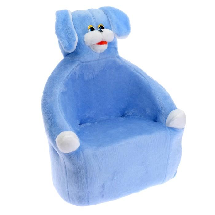 Мягкая игрушка-кресло «Собака», цвета МИКС
