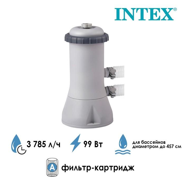 Фильтр-насос с картриджем типа «A», 3785 л/ч, 220-240V, 28638 INTEX