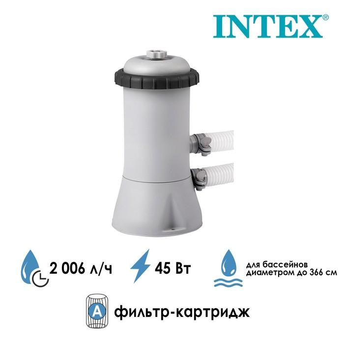 Фильтр-насос с картриджем типа «A», 2006 л/ч, 220-240V, 28604 INTEX