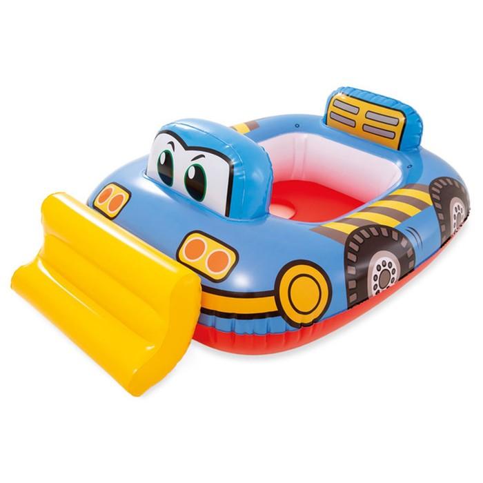 """Круг для плавания с сиденьем """"Транспорт"""" 81х72 см, от 1-2 лет, МИКС 59586NP INTEX"""