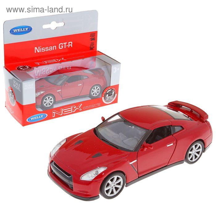 """Машина """"Nissan GTR"""" 1:34-39, цвета МИКС"""