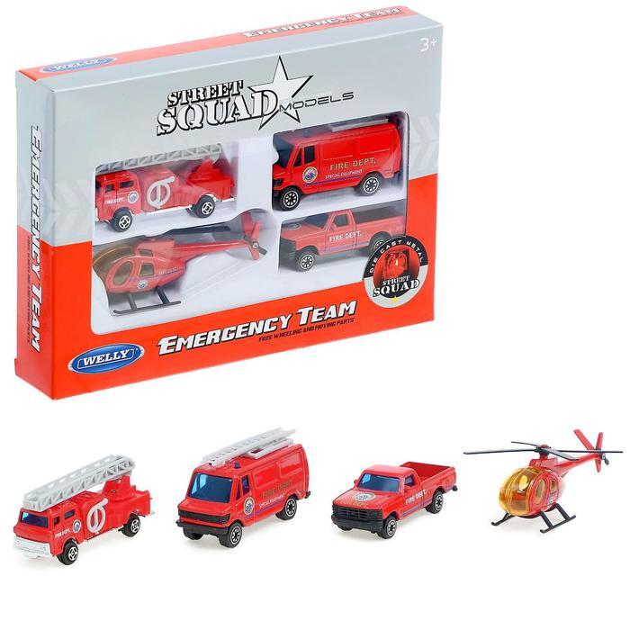 """Игровой набор """"Служба спасения - пожарная команда"""""""
