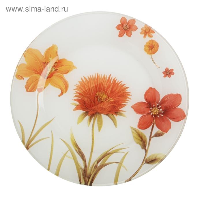 """Тарелка обеденная 225 мм """"Цветочный сад"""""""