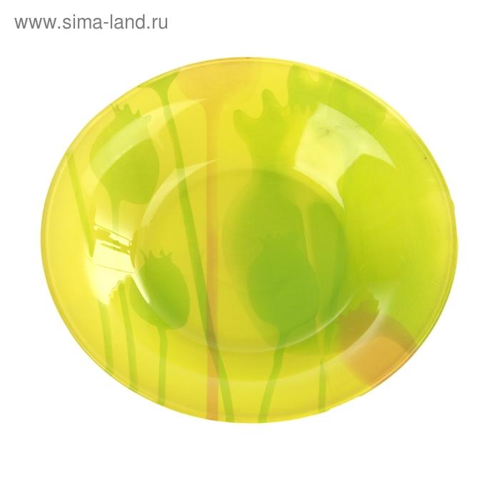 "Тарелка суповая 270 мл ""Зеленый мак"",18х4 см"