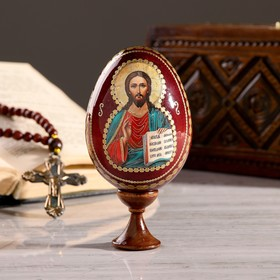 """Souvenir Egg stand on the icon """"Lord Almighty"""""""