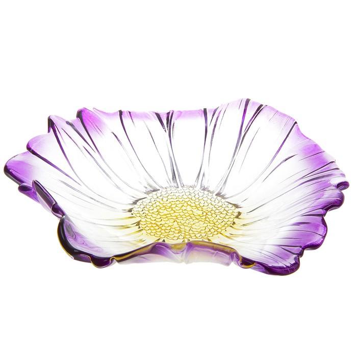 """Салатник 800 мл """"Фиолетовый цветок"""""""