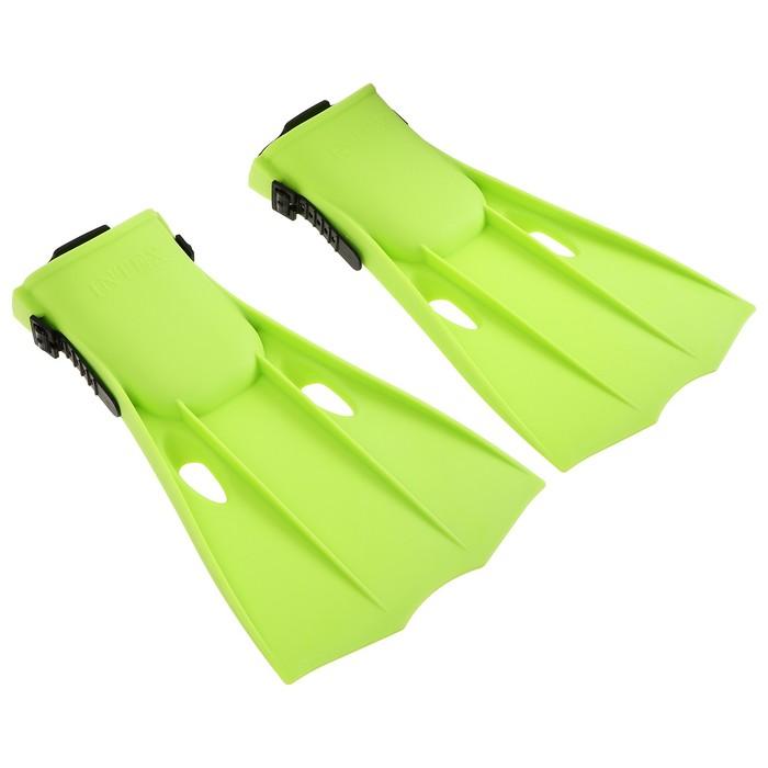 Ласты для плавания, размер 38-40, цвета МИКС, 55937 INTEX