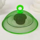 Крышка для продуктов d=21 см, цвета МИКС