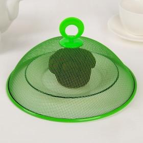 Крышка для продуктов, d=21 см, цвет МИКС Ош