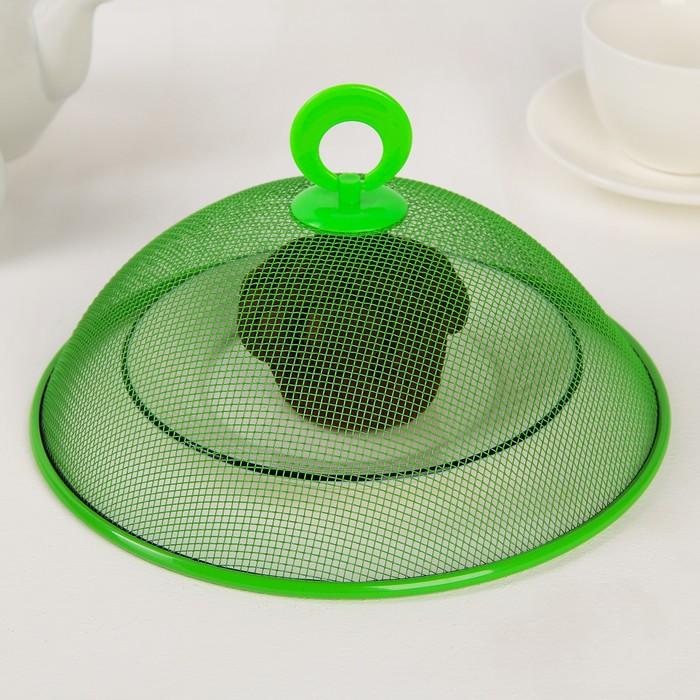 Крышка для продуктов, d=21 см, цвет МИКС
