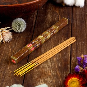 """Благовония """"HEM Flora Masala Cinnamon"""" (Корица), четырехгранник, 8 палочек"""