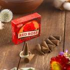 """Благовония """"HEM Red Rose"""" (Красная Роза), 10 конусов"""