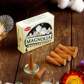 """Благовония """"HEM Magnolia"""" (Магнолия), 10 конусов"""
