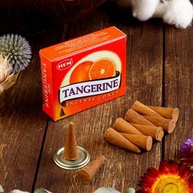 "Благовония ""HEM Tangerine"" (Мандарин), 10 конусов"