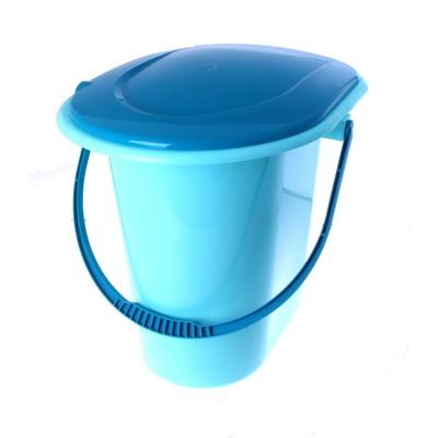 Ведро-туалет 18 л, голубой