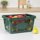 Корзина для покупок, цвет МИКС - фото 1707577